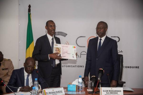 Le Projet de dématérialisation des titres de transports routiers, dénommé CAPP Karangë présenté au PM Mahammed Boun Abdallah Dionne