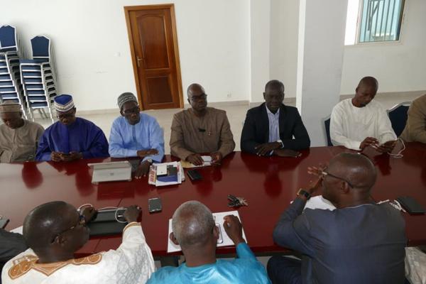 Le Grand Parti signe sa participation à la réunion du Front démocratique