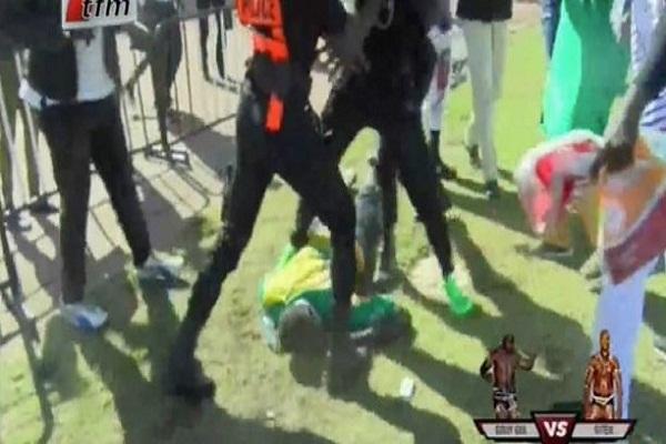 Combat Siteu-Gouye Gui: Un incident provoque plusieurs blessés au stade Lss