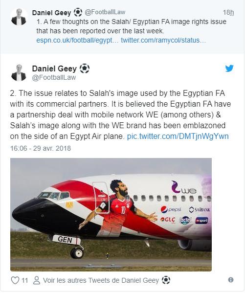 Vers un conflit entre Salah et la Fédération égyptienne?