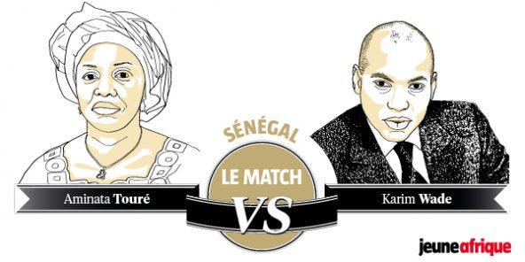 Aminata Touré vs Karim Wade : Le match de la semaine