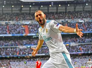 Le Real Madrid en finale de la ligue des champions