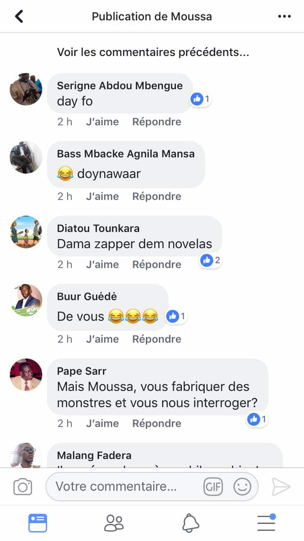 Les internautes critiquent l'homme politique Bougane Guèye Dany après son Interview