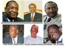 Présidentielle guinéenne : Premières tendances du vote : Cellou Dalein, Sidya Touré et Alpha Condé dans le peloton de tête