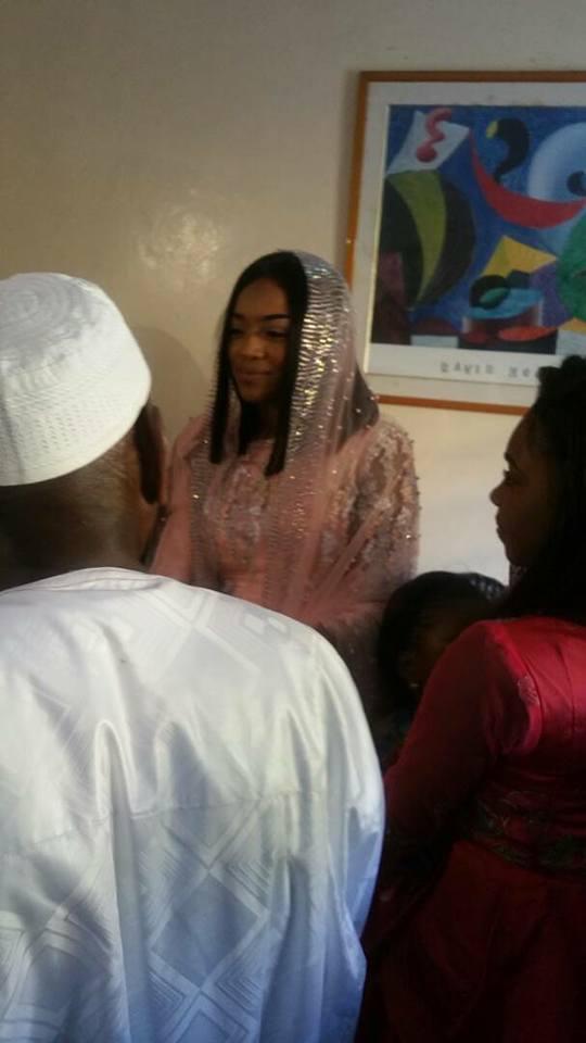 Bouba Ndour: Les tourtereaux débutent leur lune de miel.