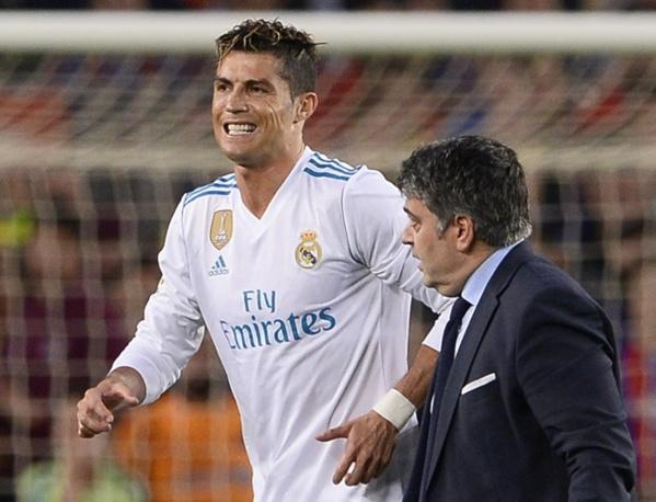 Real Madrid: Zidane rassurant quant à la blessure de Cristiano Ronaldo