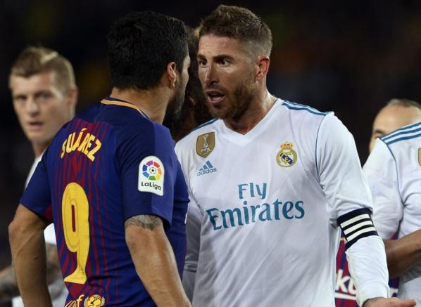 Barça-Real: coup de pression et manque d'éducation, Sergio Ramos se paie Messi et Suarez