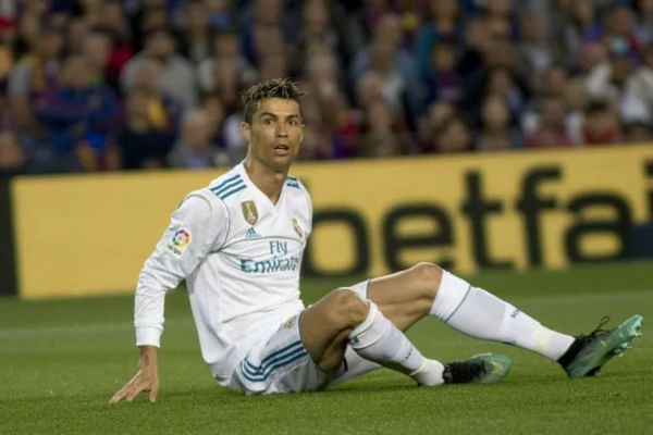 Cristianno Ronaldo absent pour une semaine