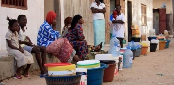 Travaux à l'usine de Keur Momar Sarr: Une pénurie d'eau est annoncée à Dakar à partir de samedi