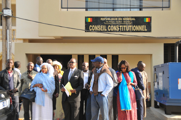 Recours contre le parrainage : Le Conseil Constitutionnel se déclare incompétent