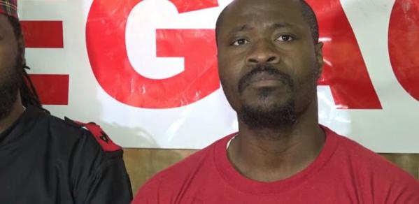 Guy Marius Sagna arrêté par la police de Gorée