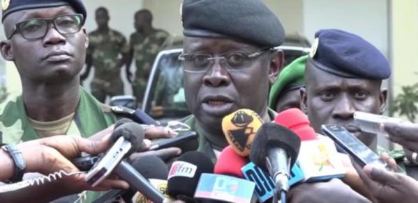 Général Cheikh Gueye, Chef d'Etat Major Général des Armées