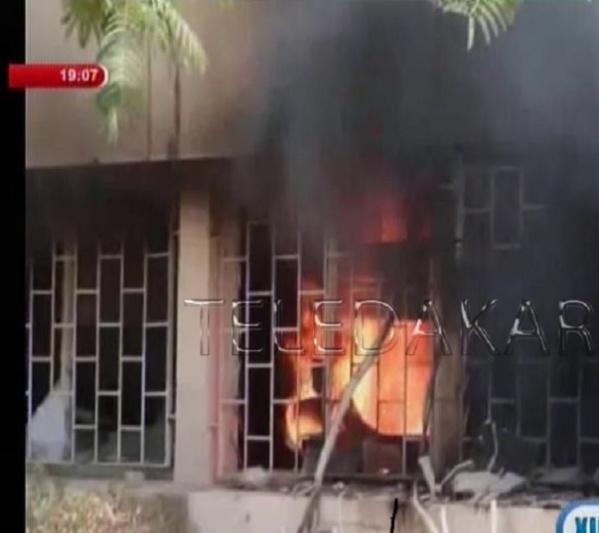 Vidéo – Casse en série : les gros dégâts à l'UGB, Boudiouck et Ngallèle