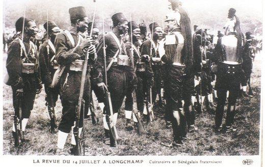 Un hommage doit être rendu aux « tirailleurs sénégalais »