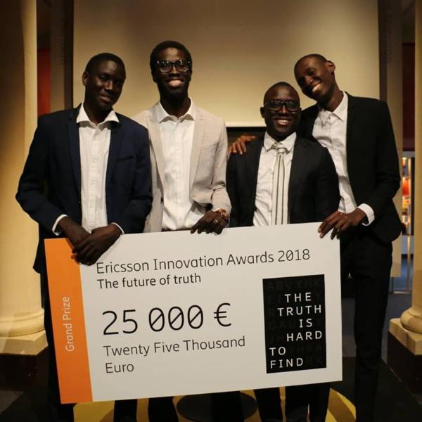 """""""Ericsson innovation Awards 2018"""":  le Sénégal avec la startup Ownlabs remporte le 1er prix devant les Etats-Unis, la Chine et l'Inde"""