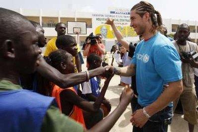 [Vidéo - Photos] Sergio Ramos : ''Je souhaite que le Sénégal remporte la Coupe du monde''
