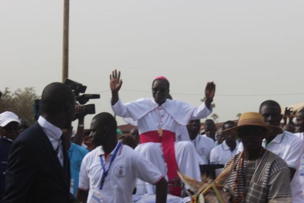 Poponguine 2018 : Monseigneur Benjamin Ndiaye appelle les fidèles à accepter Marie comme maîtresse initiatrice à l'écoute de Dieu.