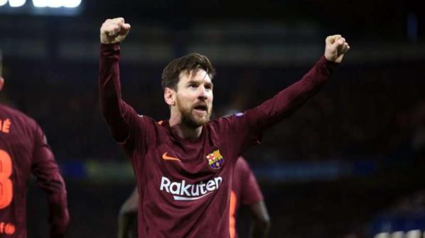 Barça: Messi Soulier d'Or devant Salah, Cavani devant Ronaldo