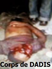 Photo inédite de Moussa Dadis Camara couché par terre après son agression