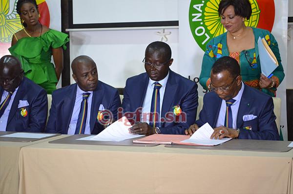 La FSF signe un contrat de 3 ans avec la Lonase