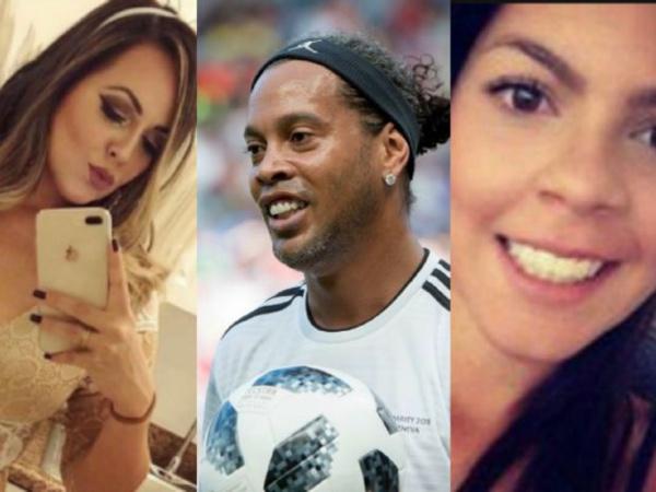 Ronaldinho dément son futur mariage avec deux femmes