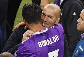 """""""Merci pour tout"""", le beau message de Ronaldo pour Zidane"""