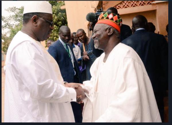 Burkina Faso – Macky Sall chez le Moro Naaba