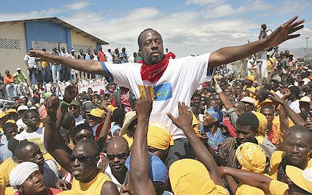 La star du hip-hop Wyclef Jean candidat à la présidentielle haïtienne