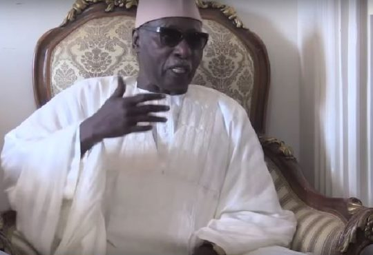 """Serigne Mbaye Sy Mansour: """"N'acceptez jamais qu'on utilise les confréries comme arme..."""""""