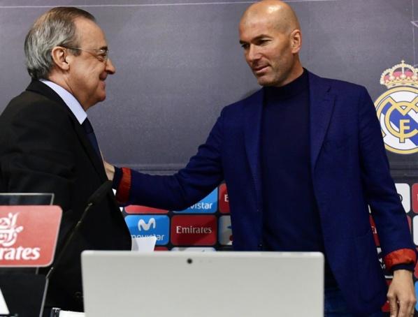 Pour la presse espagnole, Zidane est parti à cause de... Florentino Perez