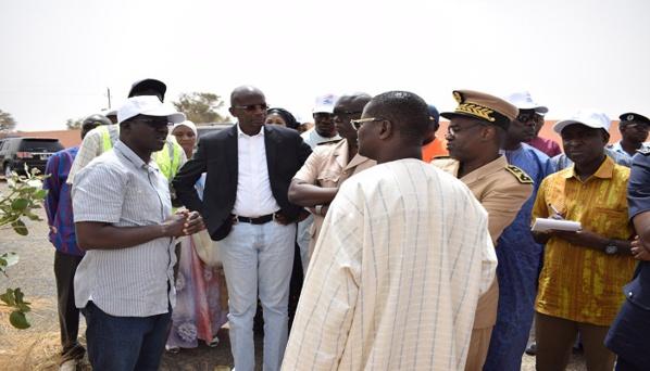 PHOTOS - Onas: Les images de la cérémonie du lancement des travaux  d'assainissement des eaux pluviales à Keur Niang (Touba)