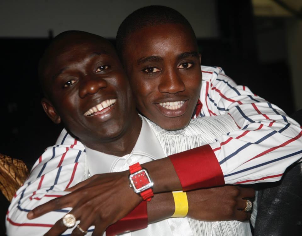 Photos : Wally Seck et Pape Diouf en toute complicité, regardez