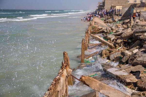Saint-Louis: plus de 16 milliards CFA de la BM pour les victimes de l'érosion côtière