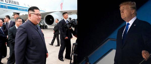 Sommet de Singapour: Donald Trump et Kim Jong-un sont arrivés