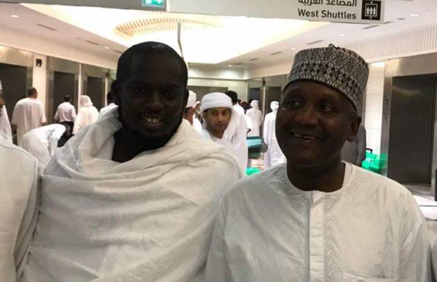 Photos : Abdou Aziz Ndiaye avec le puissant milliardaire Nigérian, Aliko Dangote