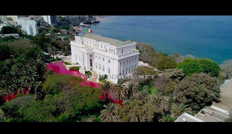 Le Palais de la République vu par Drone