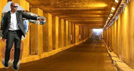 Le tunnel de Karim !
