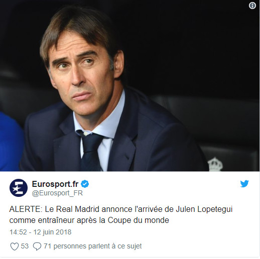 Officiel: le Real Madrid annonce son nouvel entraîneur