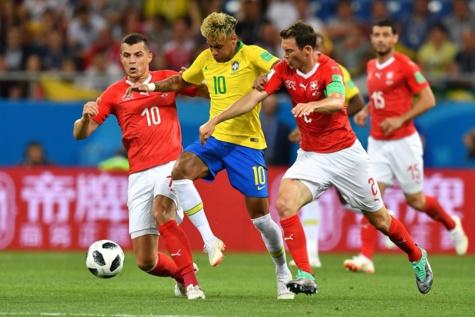 Coupe du monde 2018: la Suisse tient le Brésil en échec!