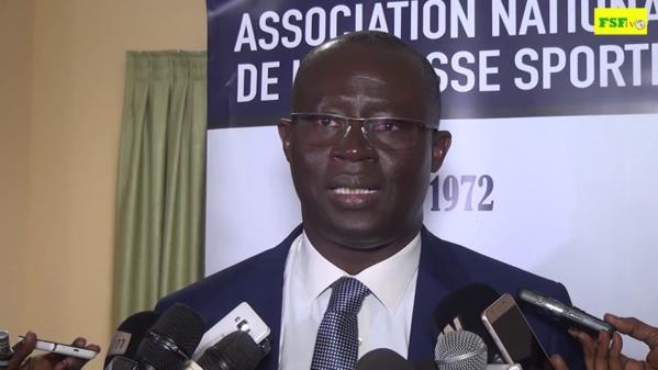 Augustin Senghor, président FSF, « il faut garder la tête sur les épaules »