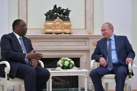 Gestion du pétrole et du gaz sénégalais : Macky Sall sollicite l'aide de la Russie