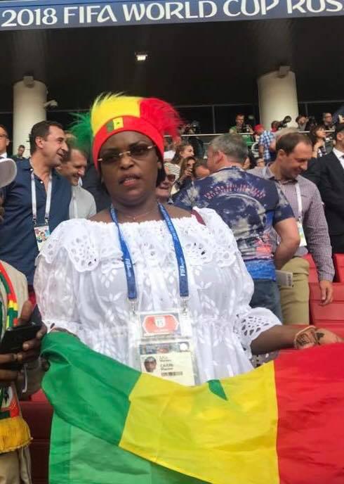 6 photos : Mondial 2018, El Hadji Diouf et Marième Faye Sall en Russie