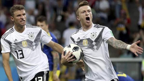 L'Allemagne s'impose à la toute dernière minute face à la Suède