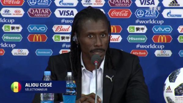 """Aliou Cissé sur le match Sénégal-Japon: """"L'enjeu, c'est gagner pour se rapprocher du 2e tour"""""""
