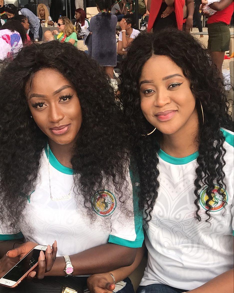 Sénégal Vs Japon: Découvrez les plus belles supportrices du jour