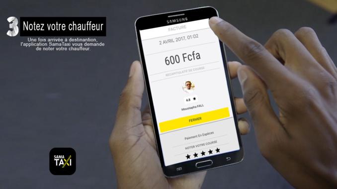 Du nouveau au Sénégal - SamaTaxi : Quand Commander un taxi devient simple avec son smartphone