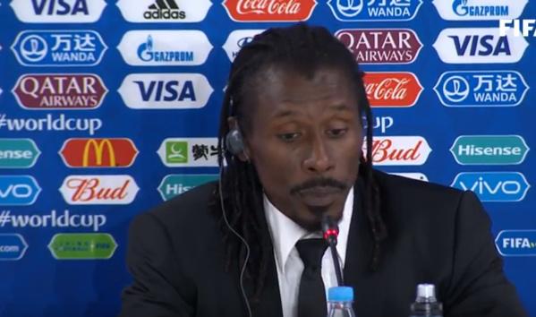 """Aliou Cissé, coach des """"Lions"""": «  la meilleure équipe, c'était le Japon »"""