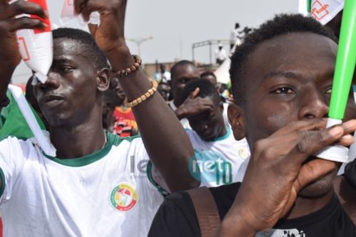 Photos : l'ambiance chez les supporters sénégalais à la Place de l'Obélisque