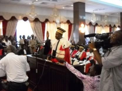 [Audio] Les magistrats laissent Cheikh Tidiane Diakhaté entre les mains « de la loi, de sa foi, de son serment et de sa conscience »
