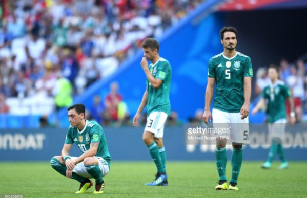 L'Allemagne quitte la coupe du monde